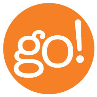 Image result for orange go button